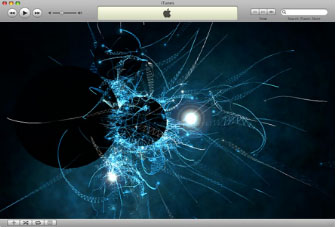 Visualizer included in iTunes. The images generated to the rhythm of the music, are beautiful yet relaxing.